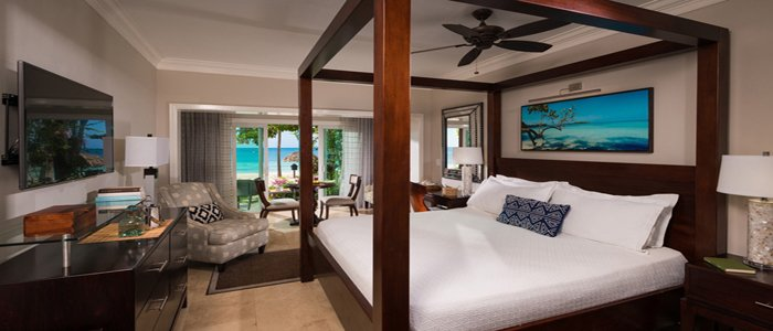 Sandals Negril includes luxurious walkout suites
