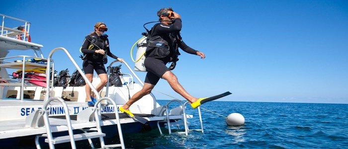 Sandals Negril offers scuba diving