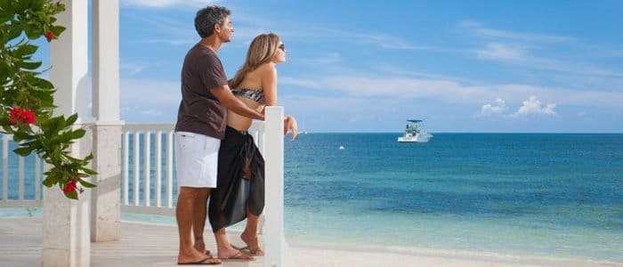 Sandals Negril includes honeymoon and anniversary packages