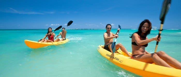 Sandals Ochi Beach includes water sports
