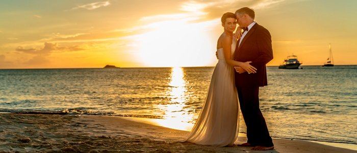 Sandals Grande Antigua includes wedding packages