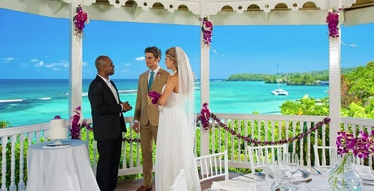Sandals Grande Riviera has several great locations for your all inclusive Jamaica wedding