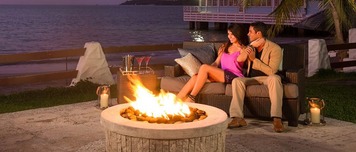 Sandals Resort knows how to turn up the romance
