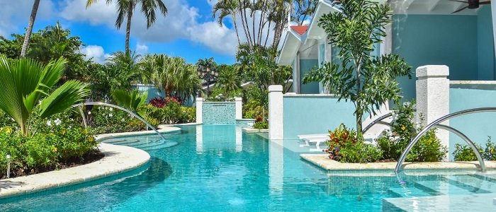 Sandals Halcyon includes swim up suites