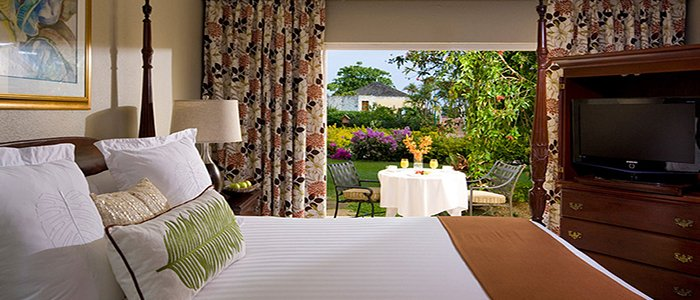 Sandals Montego Bay includes tropical gardens
