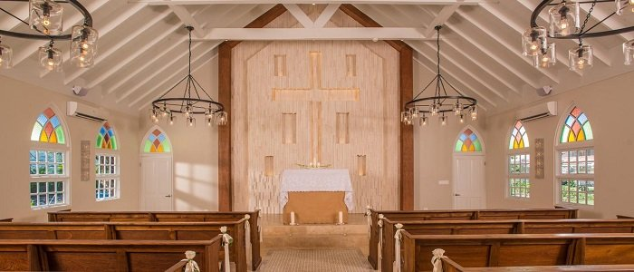 Sandals Montego Bay includes a beautiful wedding chapel