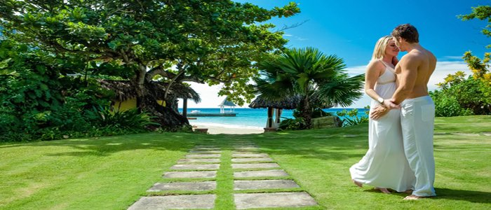 Sandals Royal Plantation includes free honeymoon packages