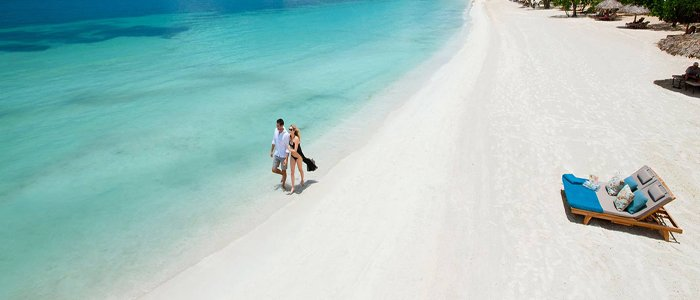 Sandals South Coast includes blue waters and white sandy beaches