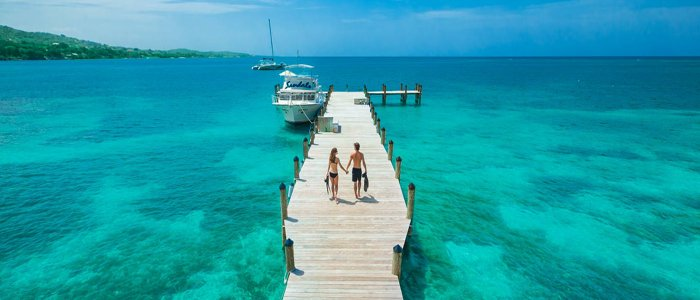 Sandals South Coast catamaran cruises