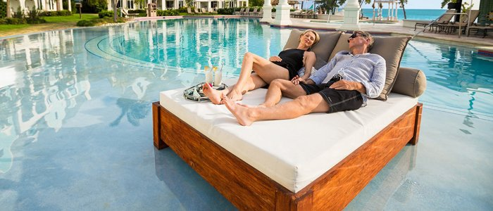 Sandals South Coast includes poolside service