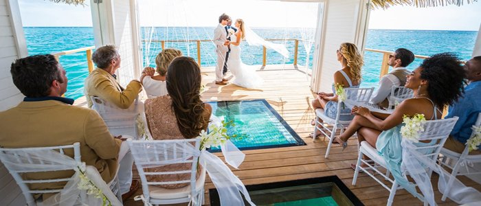 Sandals South Coast offers FREE wedding packages