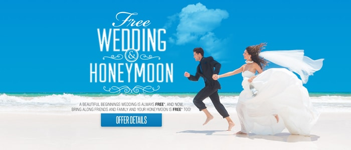 resorts with free all inclusive destination weddings