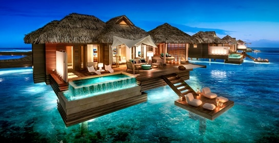 Sandals-Royal-Caribbean-Over-The-Water-Private-Island-Butler-Villa-with-Infinity-Pool-OWV-©UniqueVacationsLtd