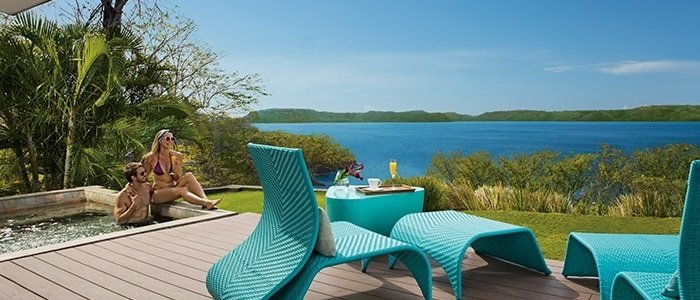 Secrets Papagayo includes junior suites with plunge pool