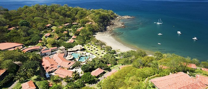 Secrets Papagayo Costa Rica includes beautiful tropic scenery