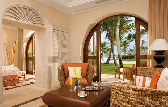 Premium Beachfront Suite Secrets Sanctuary