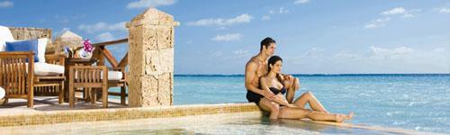 Upgrade your honeymoon package at Secrets Sanctuary Cap Cana