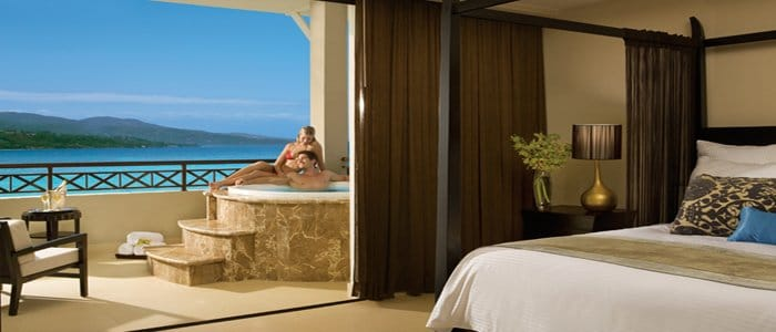 ultimate jamaica honeymoon suite