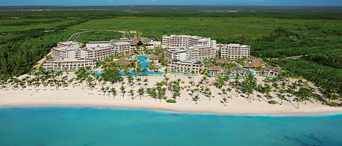 Secrets Cap Cana includes beautiful ocean views