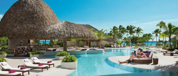 Secrets Cap Cana include pool side service