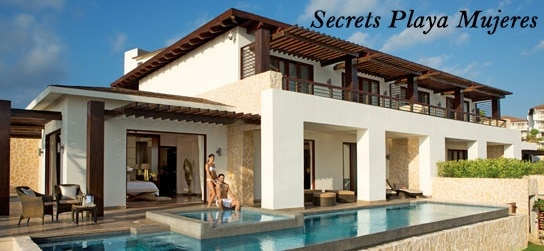 Secrets Playa Mujeres all inclusive honeymoon in Cancun