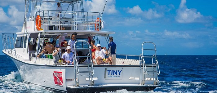 Sport fishing in St Lucia