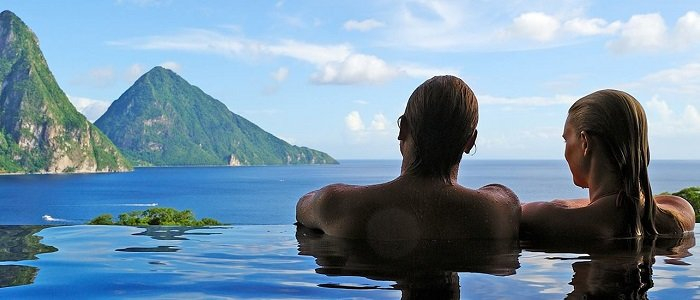St Lucia Honeymoon, Jade Mountain