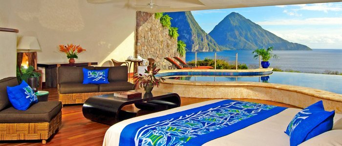 galaxy suite at Jade Mountain