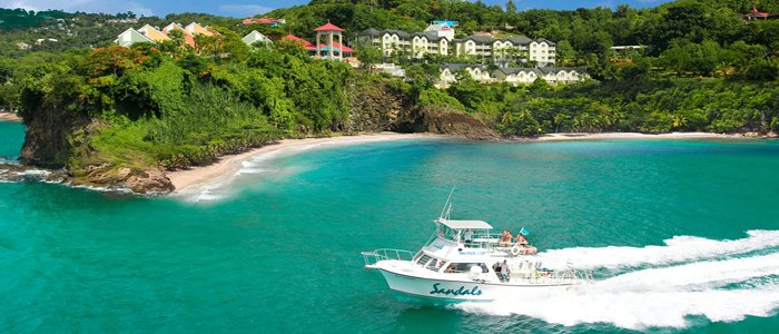 a st lucia honeymoon should always include at least one boat trip