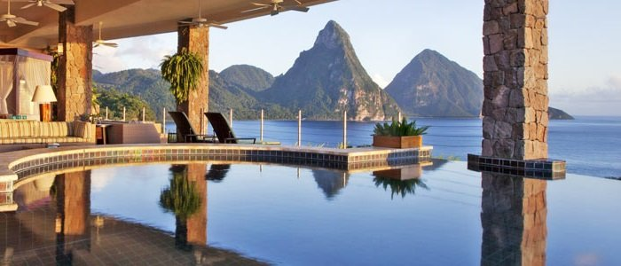 st lucia honeymoon suites with private pools