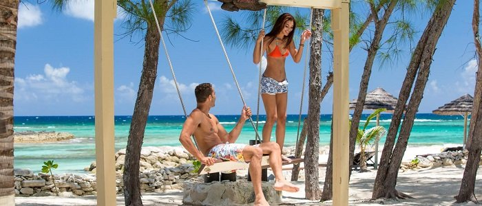 honeymoon in the Bahamas at Sandals