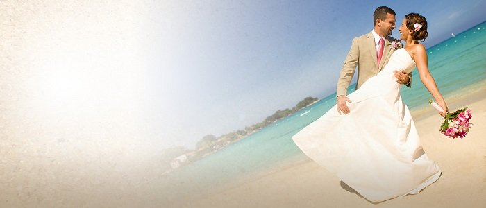 Breezes Bahamas includes affordable wedding packages