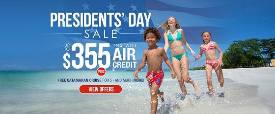 beaches-resorts-presidents-day-sale-2017-©UniqueVacationsLtd