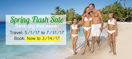 Book early and get the best rates, and something to look forward to all year. Plus $ in resort coupons.