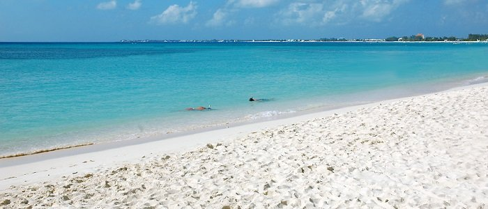 Grand Cayman includes beautiful blue waters