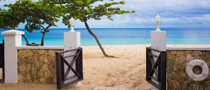 Grenada includes beautiful blue waters