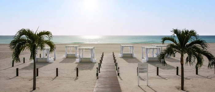 Iberostar Resorts include blue waters and white sandy beaches