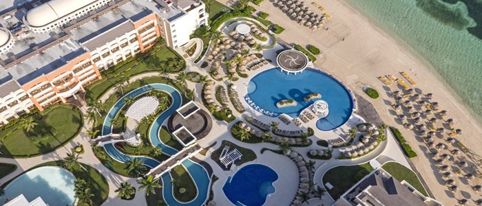 Iberostar Rosehall Suites includes a water park and lazy river