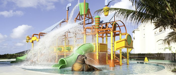 Iberostar Rosehall Suites includes a water park