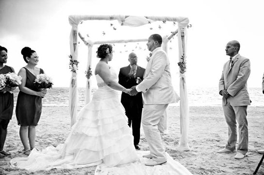 Another happy wedding client at Iberostar Rosehall Suites