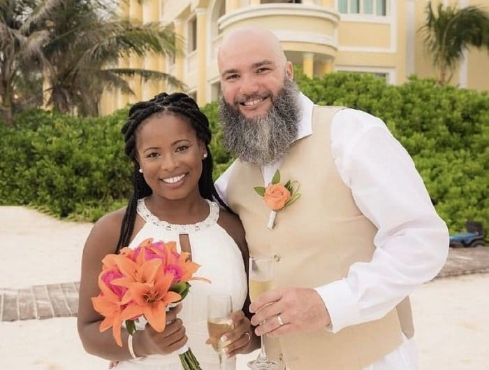 Another happy wedding client at the Iberostar Grand Paraiso