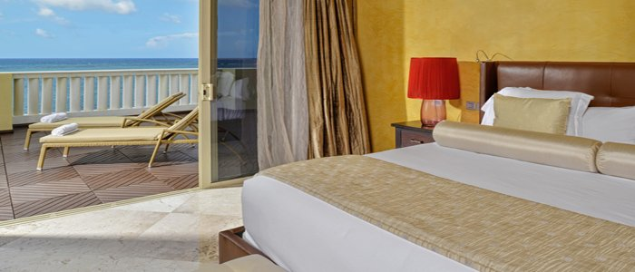 Iberostar Grand Rose Hall includes luxury suites with ocean views