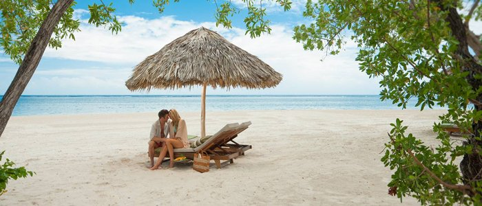 Negril Honeymoons include beautiful blue waters and amazing views of the Caribbean