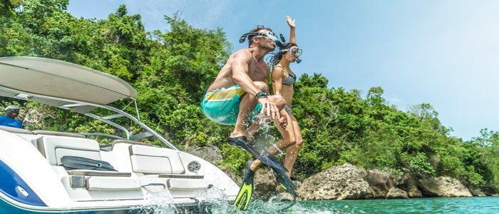 Montego Bay Honeymoons include snorkeling and adventures
