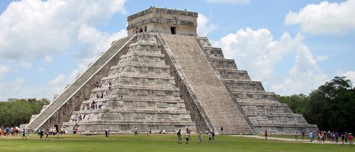 Chichen Itza one of the new seven wonders of the world