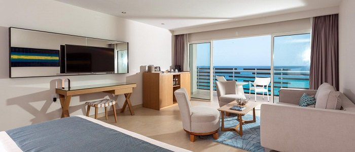 Why not book a butler suite overlooking the ocean?