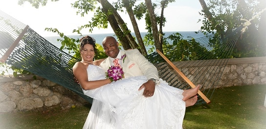 couples sans souci jamaica wedding russ and tatjana