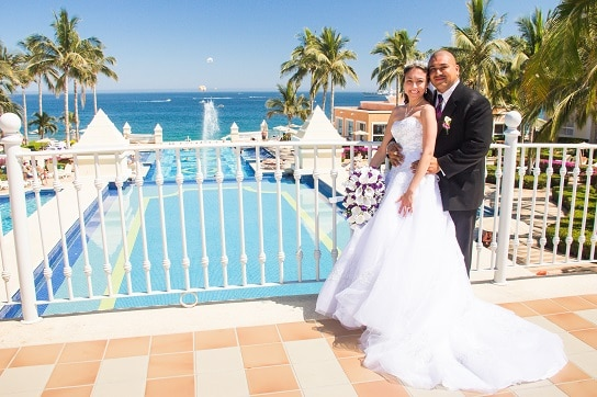 Riu Palace Cabo Wedding Mr and Mrs Ruiz