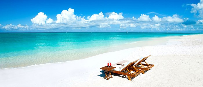turks and caicos has incredible beaches