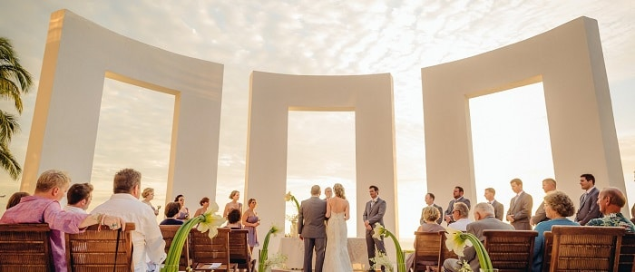 all inclusive wedding in Mexico, at Velas